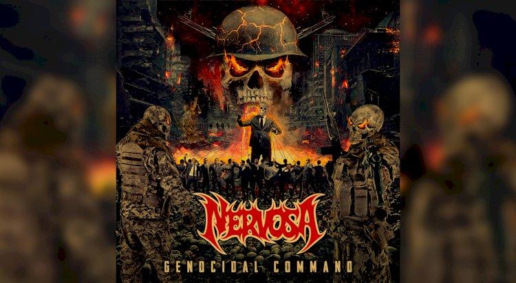 Nervosa: Confira o novo lyric video de 'Genocidal Command' com participação de Schmier, do Destruction
