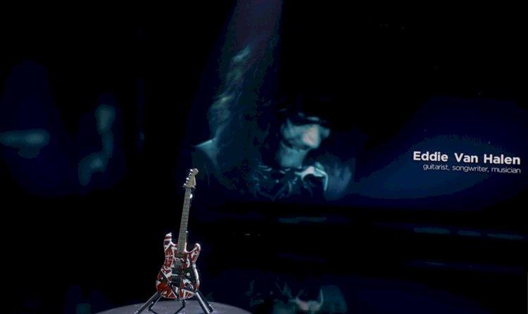 Grammy Awards é criticado por tributo de '15 segundos' a Eddie Van Halen