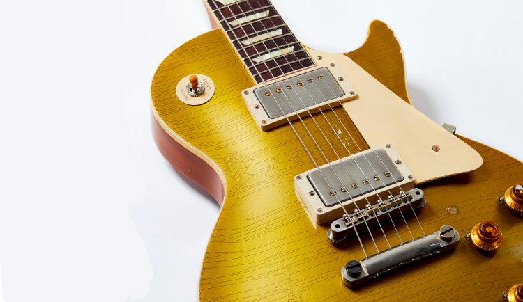 Gibson lança linha de guitarras envelhecidas artificialmente