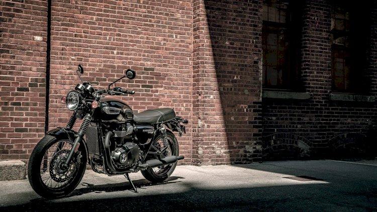 Conheça a moto clássica inglesa Triumph Bonneville T100