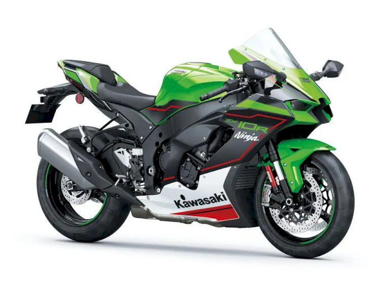 Kawasaki ZX-10R 2022 chega com design mais esportivo