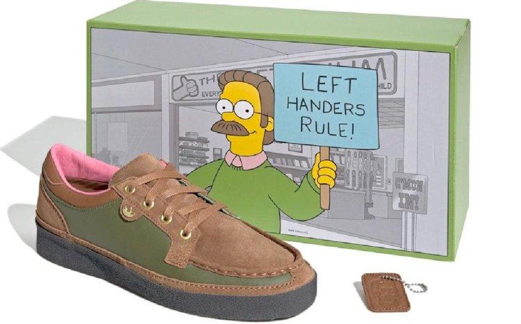 Os Simpsons e Adidas: Ned Flanders roubando a cena