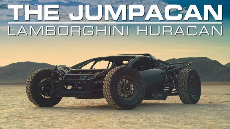 Acredite ou não, essa fera off-road é um Lamborghini Huracan