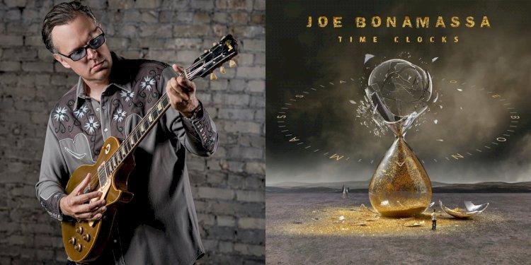 Joe Bonamassa anuncia o lançamento de seu novo álbum de estúdio