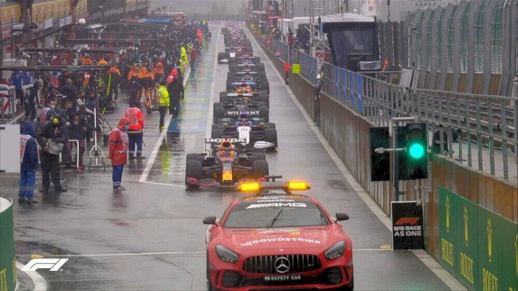 Fórmula 1: Vitória de Verstappen aconteceu em apenas 4 voltas no GP da Bélgica