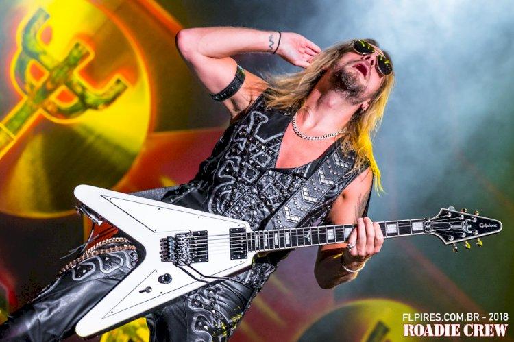Richie Faulkner, do Judas Priest, hospitalizado por problema cardíaco Restante da turnê nos EUA é adiada
