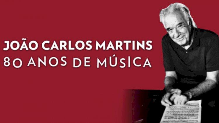 Exposição em São Paulo celebra vida e música do maestro João Carlos Martins